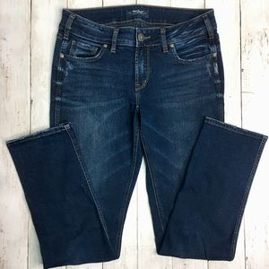 Silver Jeans Elyse Straight 29W/30L